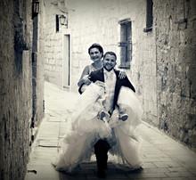 Fun Mdina couple