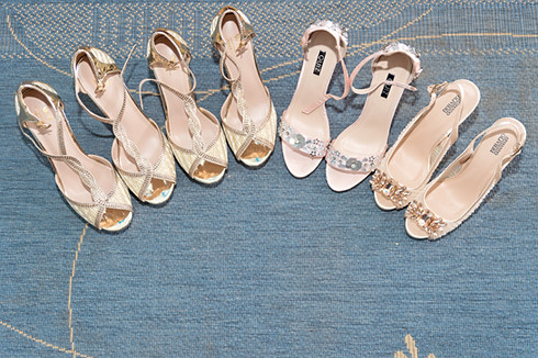 Bridal team shoes