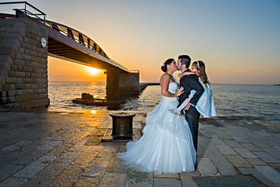 Sunrise postwedding