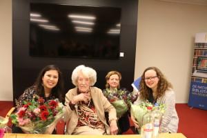 Uitreiking Miep Diekmann thesis prijs 2016