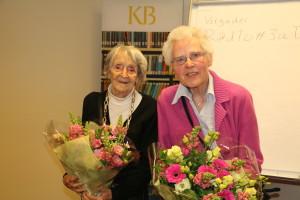 Afke Bergstra en Siny van Itersom