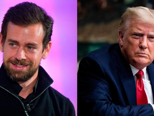 Twitter CEO Jack Dorsey lock out Donald Trump's Twitter account for 12 hours due to violent protests