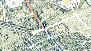 La rue Saint-Honoré et la rue du Faubourg Saint-Honoré. Ou l'inverse...