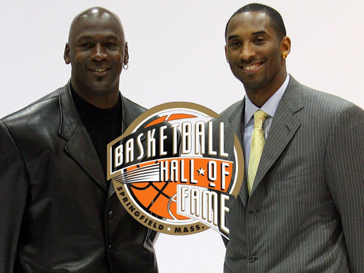 Kobe Bryant will be inducted into the Hall of Fame by Michael Jordan