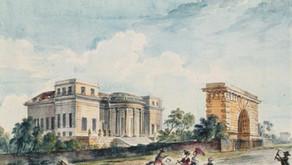 La porte de l'Hôtel de Théllusson