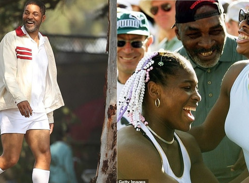 Will Smith on set of Serena Williams father biopic King Richard