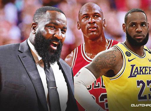 "Kendrick Perkins calls Michael Jordan a ""Snitch"" says he's not my Goat, LeBron James is my Goat"