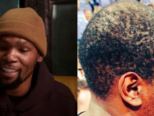 Watch: Kevin Durant Finally speaks on Roasters, Barbershop Memes about himself 'I do Brush my Hair'