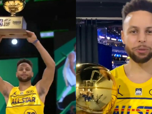 Steph Curry wins 2021 3-Point Contest for second career title at NBA All-Star Weekend