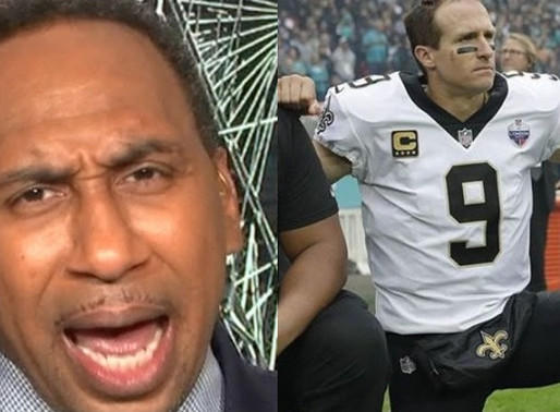"""Stephen A. Smith to Drew Brees: """"I am shocked, disappointed, I expected better from him"""""""