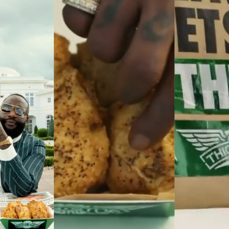 Rick Ross launches Thighstop, to stay competitive Amid Chicken Wing Shortage