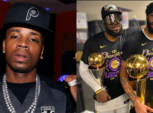 Plies Suggests the NBA Championship Trophy should go to Breonna Taylor's family, Lakers Fans Attacks