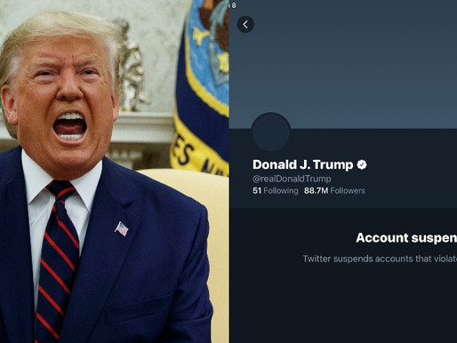 JUST IN: Twitter permanently suspends Donald Trump's 88.7M account