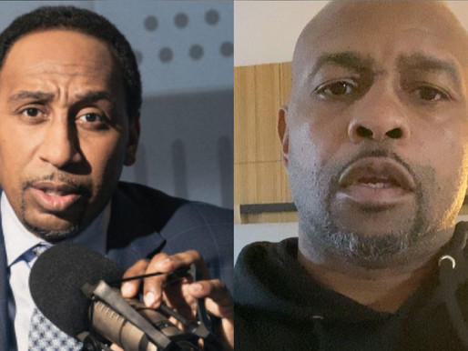 Stephen A. Smith Fears For Roy Jones Jr. Life in exhibition fight against Iron Mike Tyson Tomorrow