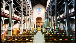 L'Eglise Notre-Dame-du-(télé)Travail
