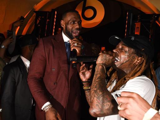 "Lil Wayne on LeBron's 4th title, talks his ""GOAT status"" says he's still Michael Jordan all the way"