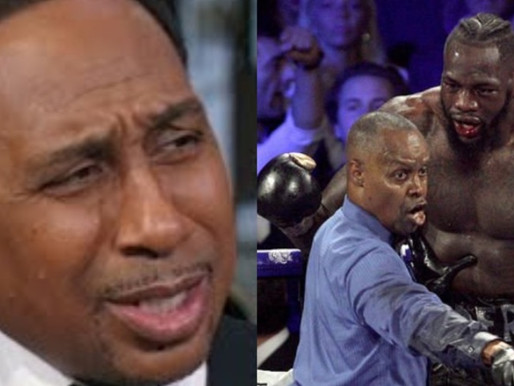 Stephen A. reacts Says he's being having nightmares over Deontay Wilder Beat Down | First Take