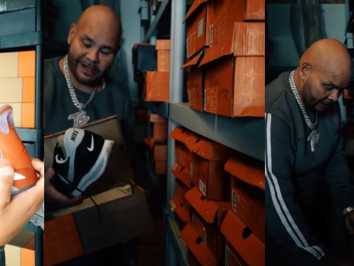 Fat Joe might've beaten his 'hip hop peers' shows off insane shoe collection over 30+ years