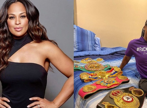 """Laila Ali Might be coming out of Retirement to Fight Claressa Shields """"Only if the Price is Right"""""""