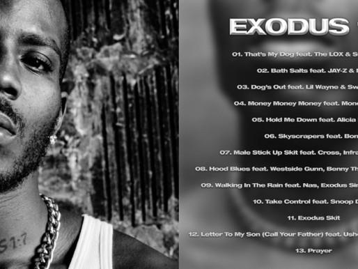 DMX's New Album 'Exodus' Is Out produced by Swizz Beatz