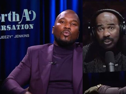 """Watch the Debut of Jeezy's new show """"Worth A Conversation"""" with Steve Harvey"""