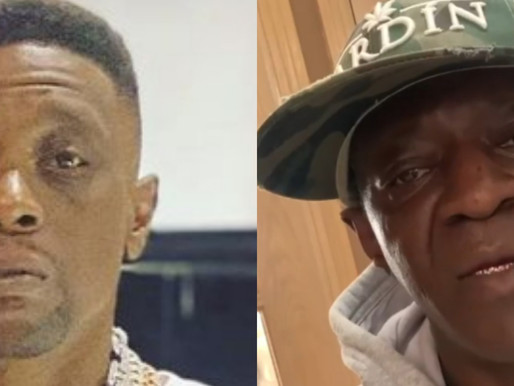 Boosie Badazz Gets Mistaken for Flavor Flav this morning at the Airport