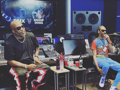 """A look back at the historic Snoop Dogg and DMX's """"Battle of the Dogs"""" Watch full VERZUZ:"""