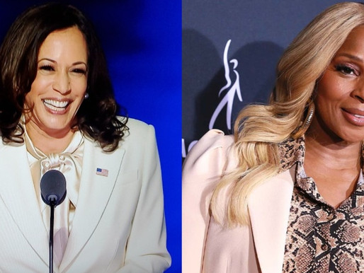 Kamala Harris gives speech for the first time as vice president-elect walks out to Mary J. Blige