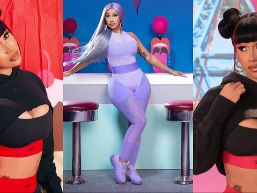 Cardi B launched first apparel collection in Partnership with Reebok