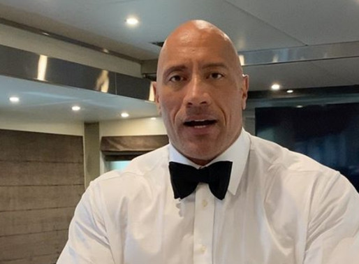 Dwayne 'The Rock' Johnson celebrates after reaching 200 Million IG followers with a shot of tequila