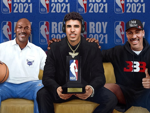 LaVar Ball prediction ended up being right Son LaMelo Ball wins the 2020-21 Rookie of the Year