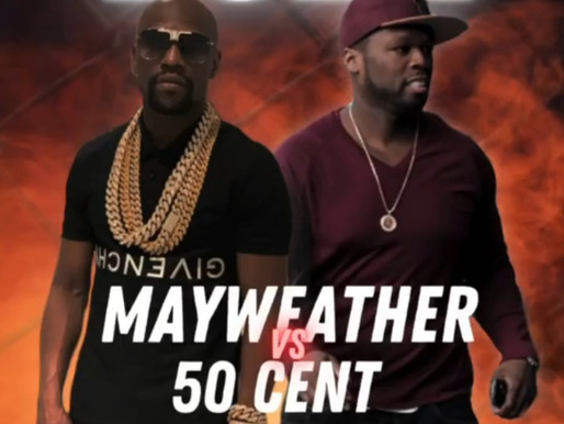 """Floyd Mayweather says he's down to Fight 50 Cent in exhibition """"I don't care about weight class"""""""