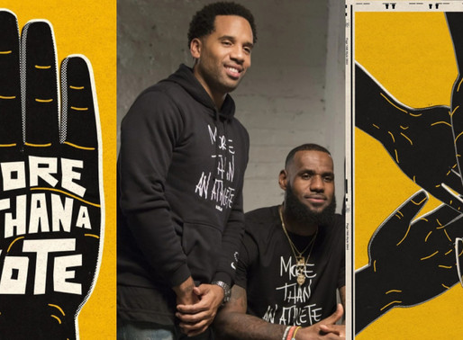 LeBron James & business partner Maverick Carter launched new organization called 'More Than A Vote'