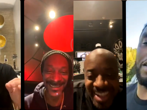 Diddy And Jermaine Dupri joined Fat Joe's IG live For Pre-Verzuz Challenge