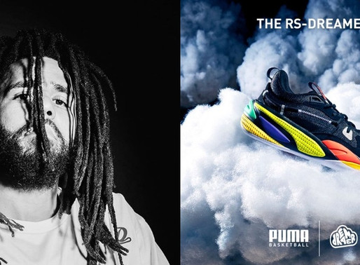 J. Cole's x PUMA RS-Dreamer Basketball Shoe Sells Out In One Minute on PUMA's Website