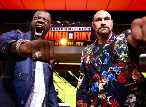 Tyson Fury Is Confident says he's going to Slap Deontay Wilder around the ring, no problem' Feb 22