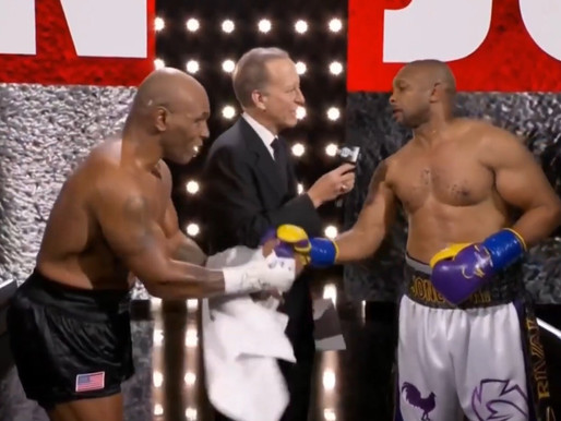 54-year-old Mike Tyson and 51-year-old Roy Jones Jr. fought to a DRAW