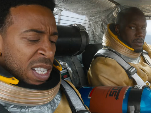 Video of Ludacris & Tyrese Gibson launching into Space, praised Cardi B 'acting skills' in 'Fast 9'