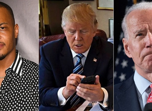 """Trump uses T.I.'s """"Whatever You Like"""" song Takes Shots at Joe Biden for his Anti-Biden Campaign"""