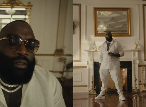 "Rick Ross drops New Video For  ""Pinned to the Cross"" featuring Finn Matthews"