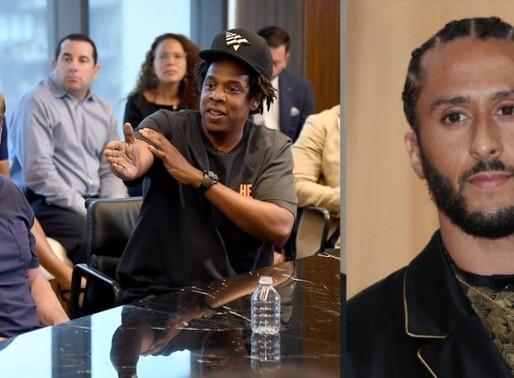 Jay-Z reportedly Spoke to Kaepernick About New NFL Partnership