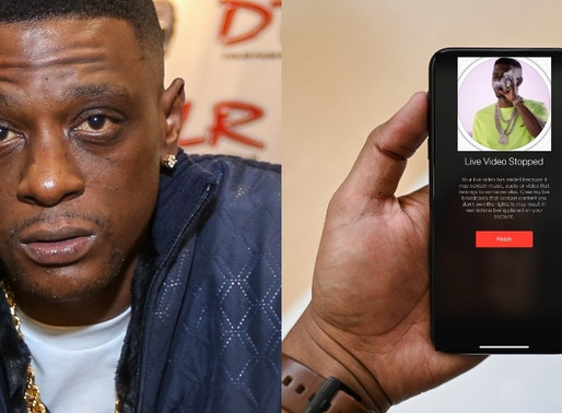 Boosie Badazz says he is Suing Instagram for stopping his Live on his 'New Account' Claims Racism