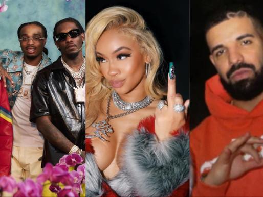 """Quavo raps gotten Ex-Saweetie's Bentley repossessed after Breakup on """"Culture III"""" featuring Drake"""