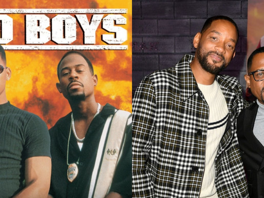 Will Smith and Martin Lawrence celebrates 26th anniversary of 'Bad Boys' today