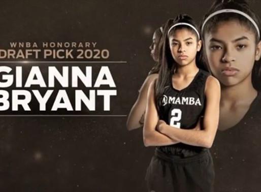 Vanessa Bryant thanks WNBA for making Gigi an honorary Draft Pick