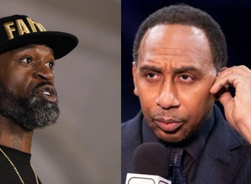 Stephen Jackson exchanges words w/ Stephen A. fighting for equality following Kyrie Irving comments