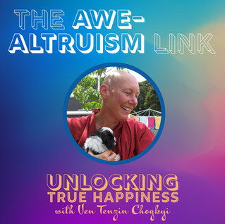 The Awe-Altruism Link