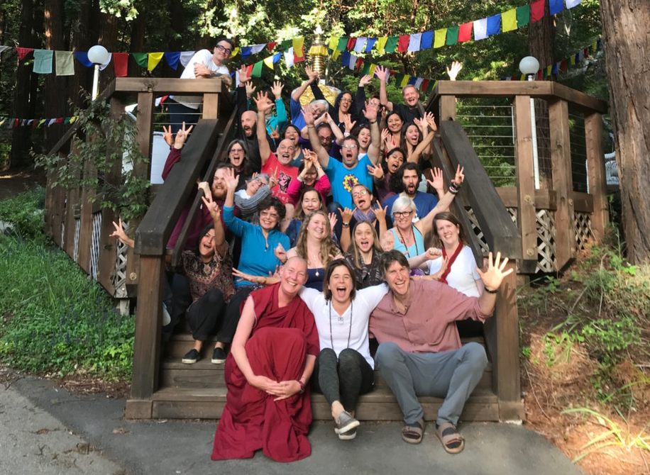 Cultivating Emotional Balance teacher training 2018 with Eve Ekman and Ryan Redman