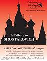 A Tribute to Shostakovich