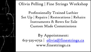 Olivia Pelling - Fine Strings